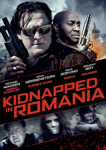 Kidnapped In Romania (DVD) Pre-Owned
