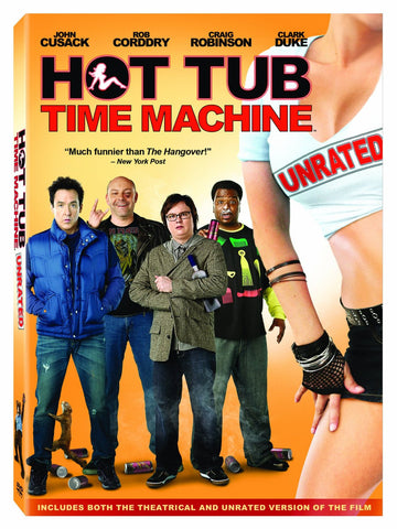 Hot Tub Time Machine (2010) (DVD Movie) Pre-Owned: Disc(s) and Case