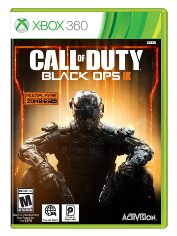 Call of Duty: Black Ops III (Xbox 360) NEW