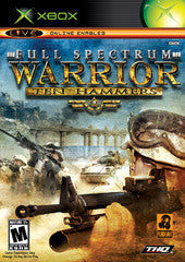 Full Spectrum Warrior Ten Hammers (Xbox) NEW