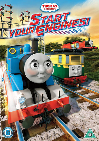 Thomas & Friends: Start Your Engines! (DVD) Pre-Owned