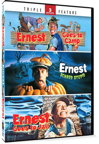 Ernest Goes to Camp / Ernest Scared Stupid / Ernest Goes to Jail (DVD) Pre-Owned