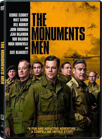 The Monuments Men (DVD) Pre-Owned