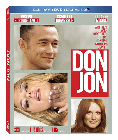 Don Jon (Blu-ray + DVD Combo) Pre-Owned