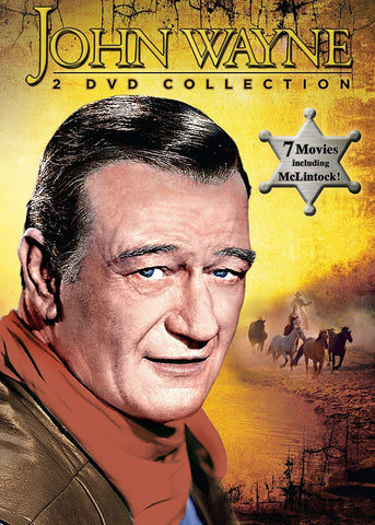 John John Wayne Collection (John Wayne: Amercian Hero of the Movies / The Dawn Rider / Texas Terror / The Trail Beyond / McLintock / The Star Packer / The Hurricane Express) (DVD) Pre-Owned