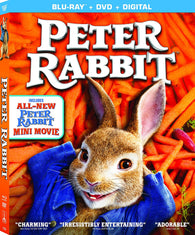 Peter Rabbit (Blu Ray + DVD Combo) Pre-Owned