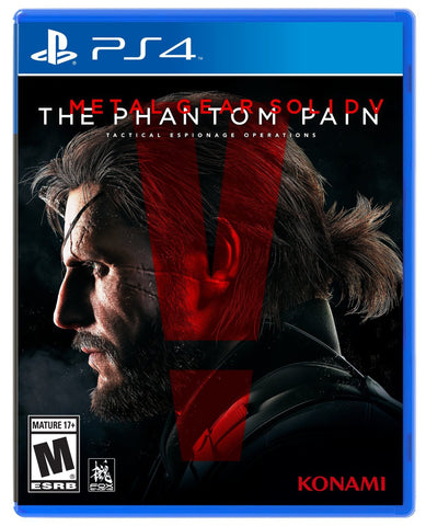 Metal Gear Solid V: The Phantom Pain (Playstation 4) NEW