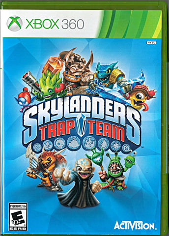 Skylanders Trap Team (Game Only) (Xbox 360) Pre-Owned: Game and Case