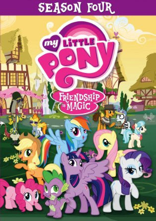 My Little Pony Friendship Is Magic: Season 4 (DVD / Anime) Pre-Owned: Disc(s) and Case