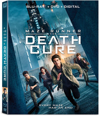Maze Runner: The Death Cure (Blu Ray + DVD Combo) Pre-Owned