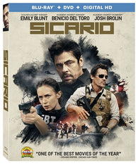 Sicario (Blu Ray) Pre-Owned