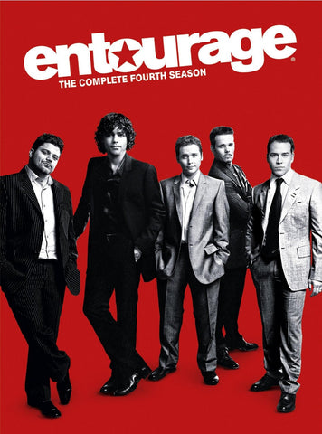 Entourage: Season 4 (2007) (DVD / Season) Pre-Owned: Discs and Box/Case