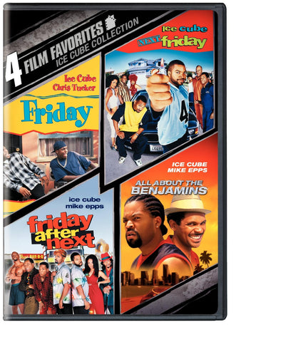 Ice Cube Collection: All About the Benjamins, Friday,  Next Friday, Friday After Next (2008) (4 Film Favorites) (DVD Multipack) Pre-Owned: Disc(s) and Case