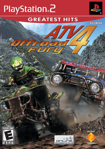 ATV Offroad Fury 4 (Playstation 2) Greatest Hits - NEW
