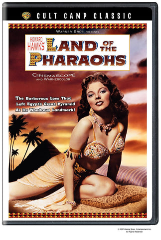 Land of the Pharaohs (DVD) Pre-Owned