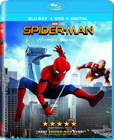 Spider-Man: Homecoming (Blu Ray Only) Pre-Owned