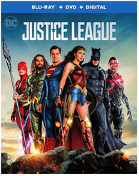 Justice League (Blu Ray + DVD Combo) NEW