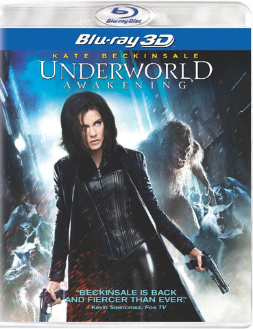 Underworld: Awakening (Blu-ray 3D) (2012) (Blu Ray / Movie) Pre-Owned: Discs and Case