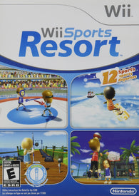 Wii Sports Resort (Nintendo Wii) Pre-Owned: Game, Manual, and Case