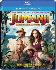 Jumanji: Welcome to the Jungle (Blu Ray + DVD Combo) NEW