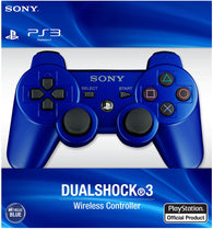 Official SONY Wireless Controller - Blue (Model #CECHZC2U) (Playstation 3 Accessory) Pre-Owned
