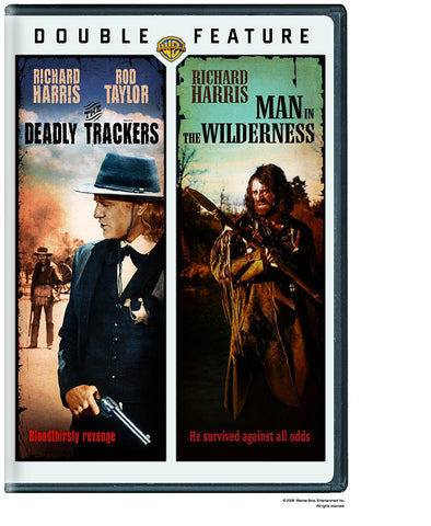 The Deadly Trackers / Man in the Wilderness (DVD) Pre-Owned