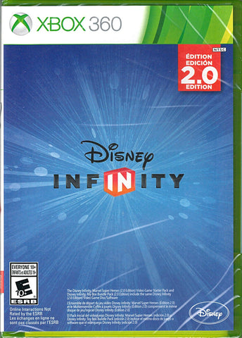 Disney INFINITY: Marvel Super Heroes (2.0 Edition) (Game Only) (Xbox 360) Pre-Owned: Game, Manual, and Case