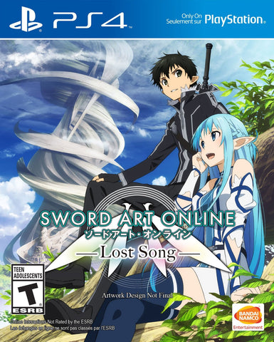 Sword Art Online: Lost Song (Playstation 4) NEW