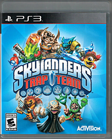 Skylanders Trap Team (Game Only) (Playstation 3) Pre-Owned: Game and Case