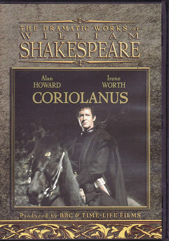 The Dramatic Works of William Shakespeare: Coriolanus (DVD) Pre-Owned