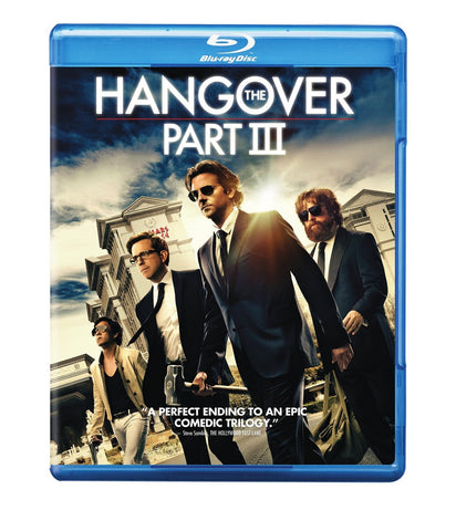 The Hangover Part III 3 (Blu-ray/ DVD Combo) (2013) Pre-Owned: Disc(s) and Case