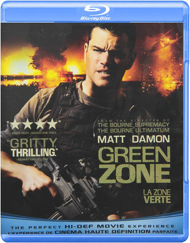Green Zone (Blu Ray) Pre-Owned
