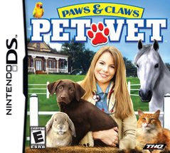 Paws & Claws Pet Vet (Nintendo DS) Pre-Owned: Cartridge Only