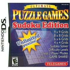 Ultimate Puzzle Games Sudoku Edition (Nintendo DS) Pre-Owned: Game, Manual, and Case