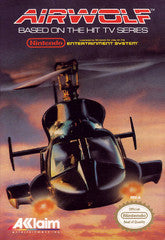 Airwolf (Nintendo) Pre-Owned: Game, Manual, and Box