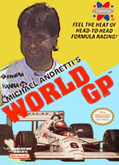 Michael Andretti's World GP (Nintendo) Pre-Owned: Game, Manual, and Box