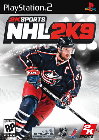 NHL 2K9 (Playstation 2 / PS2) Pre-Owned: Game, Manual, and Case