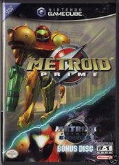 Metroid Prime with Metroid Prime 2 Demo (Nintendo GameCube) Pre-Owned: Game and Case