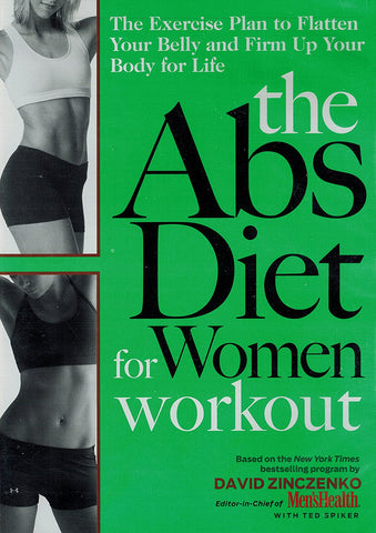 The Abs Diet for Women Workout (DVD) Pre-Owned