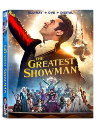 The Greatest Showman (Blu Ray + DVD Combo) NEW