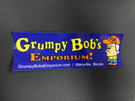Grumpy Bob's Bumper Sticker - NEW