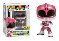 Power Rangers: #407 Metallic Pink Ranger - Hot Topic Exclusive (Funko POP!) Figure and Original Box