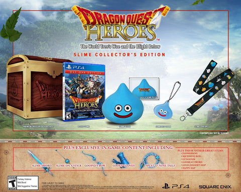 Dragon Quest Heroes: The World Tree's Woe and the Blight Below - Collector's Edition (Playstation 4) NEW