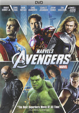 Marvel's - The Avengers (2012) (DVD Movie) Pre-Owned: Disc(s) and Case