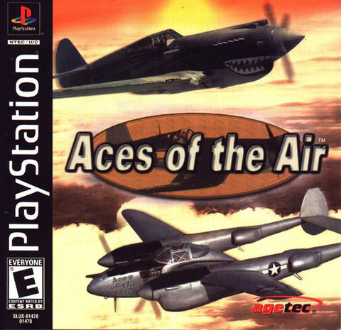 Aces of the Air (Playstation 1) Pre-Owned: Game, Manual, and Case