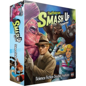 Smash Up: Science Fiction Double Feature Expansion (Card and Board Games) NEW