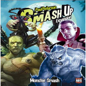 Smash Up: Monster Smash Expansion (Card and Board Games) NEW