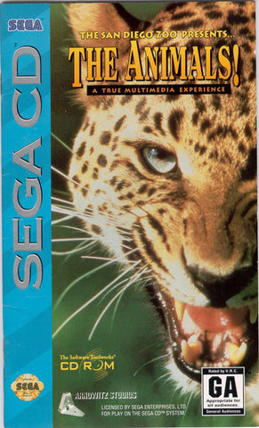 Animals (Sega CD) Pre-Owned: Game, Manual, and Case