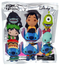 Disney Figural Keyring (Series 2 / Lilo and Stitch) Mystery Minis - NEW