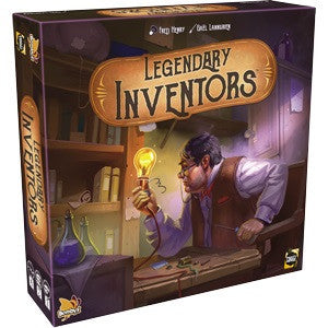 Legendary Inventors (Board and Card Games) NEW